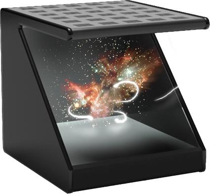 Голографический 3D дисплей Holorex