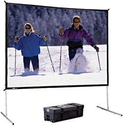 Проекционный экран Da-Lite Fast Fold 400x300
